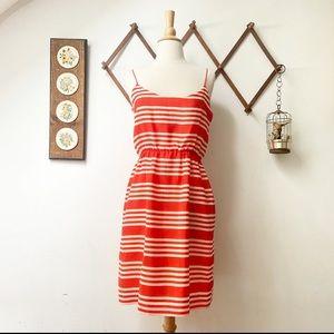 J. Crew • Striped Summer Dress